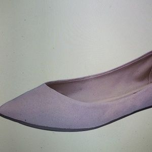 Breckelle's womens Flats Pointed Toe New Blush